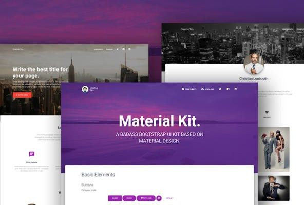 Bootstrap Themes at BootstrapZero