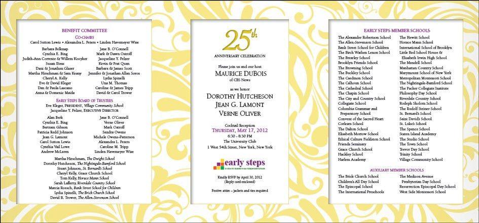 Event Marketing Design | Fundraiser Gala Design | Jill Singer Graphics