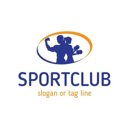 fitness and sport club Logo Template for $5