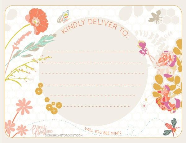 Valentines Day & Spring Shipping Labels by Bonnie Christine ...