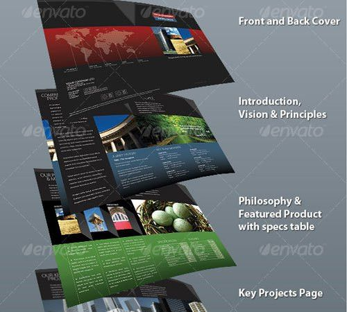 Professional Business Profile Template. 8 professional company ...