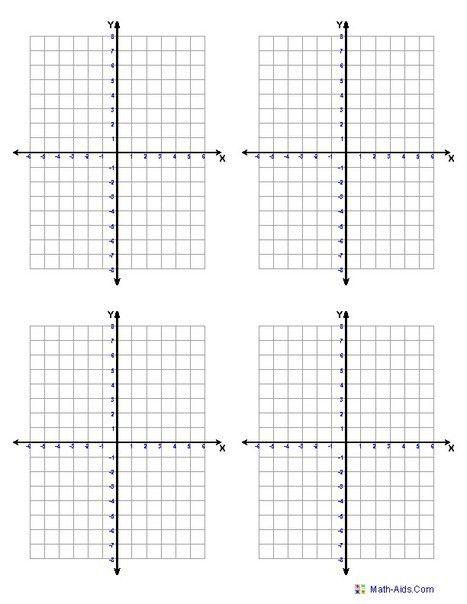 Free Printable Math Graph Paper | Printable Paper