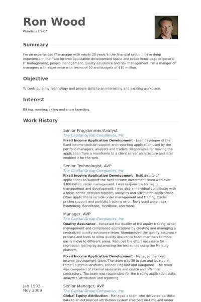 programmer analyst resume sample senior programmer analyst resume