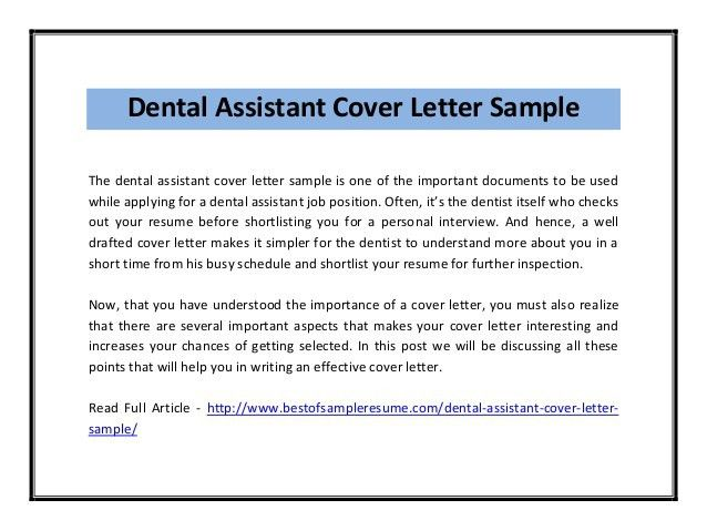 cover letter lovable dentist assistant cover letter benefits ...