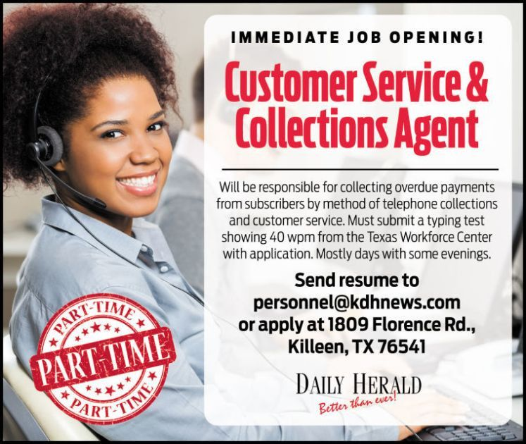 Customer Service & Collections Agent | Customer Service & Call ...