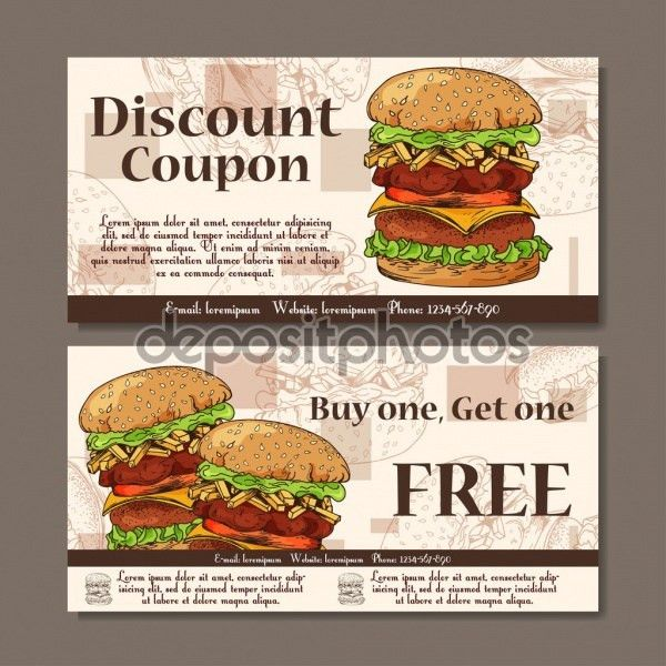 16+ Food Coupons - PSD, Vector EPS Download