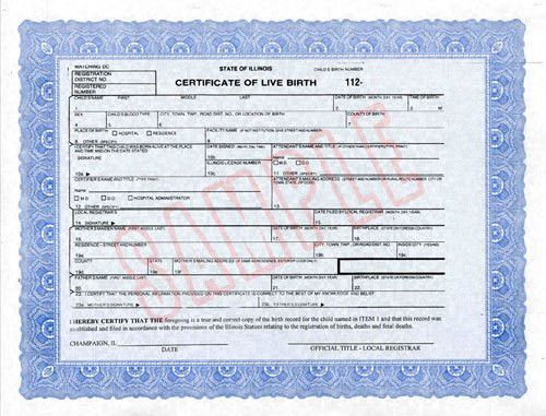 Birth Certificate Information - CUPHD