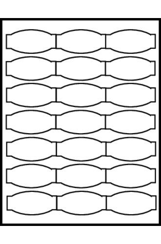 Avery® Big Tab™ Ultralast Plastic Dividers 8-Tab - 24901 - Template