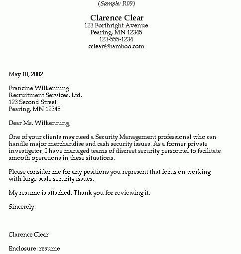 Investigator Cover Letter] Private Investigator Cover Letter .
