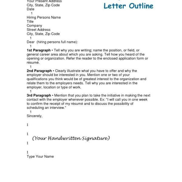 Cover Letter Outline Louisvuittonthandbags For Cover Letter with ...