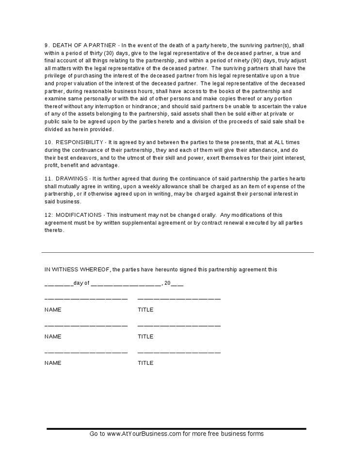 LLC Partnership Agreement - Hashdoc