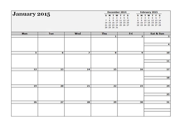 2015 Three Month Appointment Calendar Template - Free Printable ...