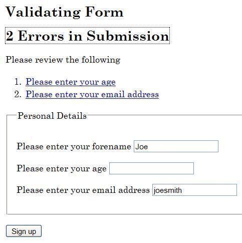 SCR32: Providing client-side validation and adding error text via ...