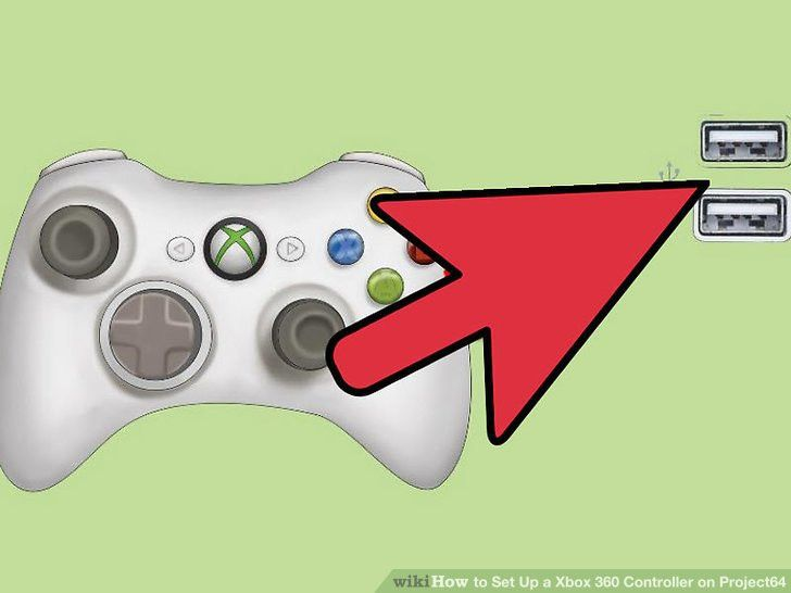 How to Set Up a Xbox 360 Controller on Project64: 4 Steps