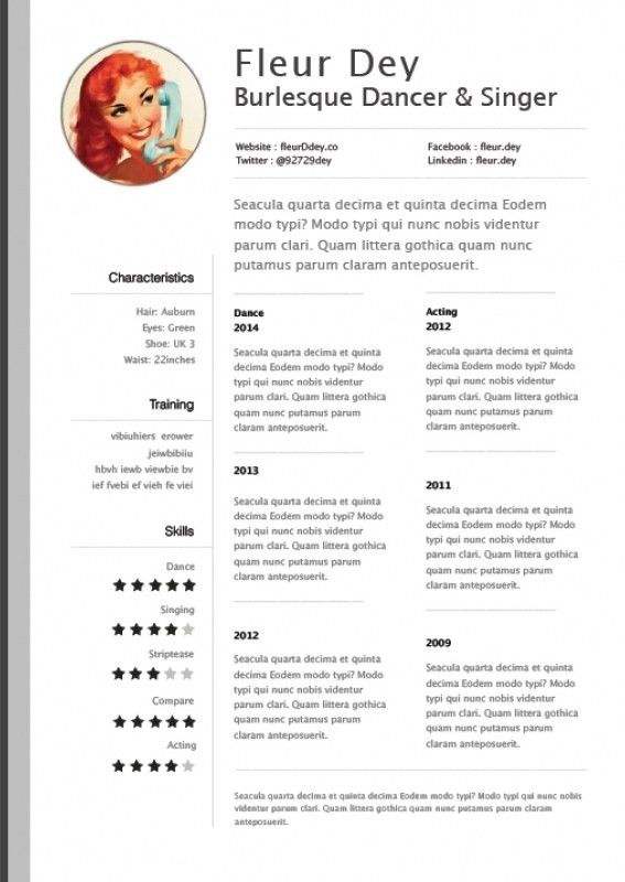 Example Resume Layout. Free Resume Template Microsoft Word 7 Free ...