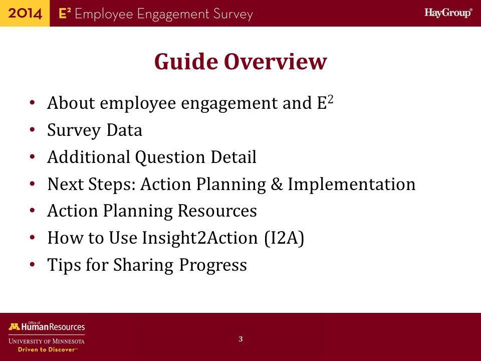 Guide to Employee Engagement Survey Data and Action Planning - ppt ...