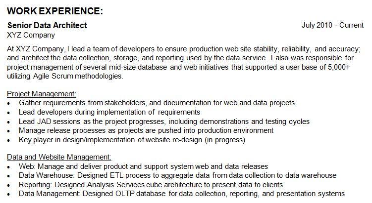 Amazing Sql Resume 1 Sql Developer - Resume Example