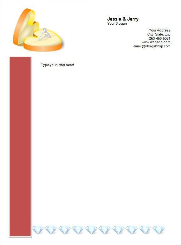 business letterhead templates word