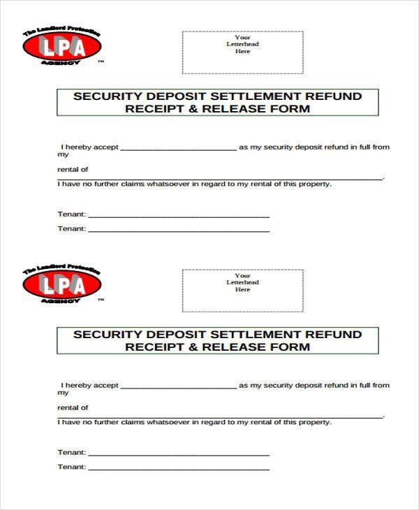 Free Receipt Form. Cash Or Checks Receipt Form In Doc , Cash ...