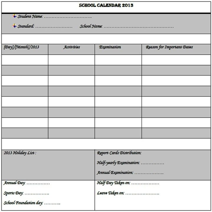 Sample Planning Calendar. Details Event Planning Template - 10+ ...