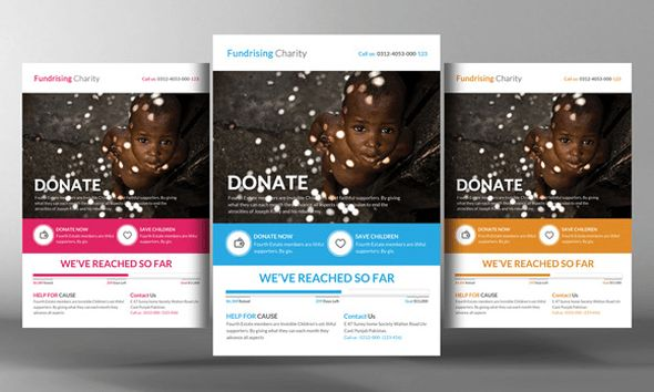 24 Charity Donation Flyers Psd Templates | Free PIK PSD