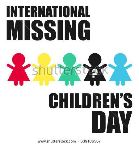 Missing Child Poster Template. brown and red girl wrench world day ...