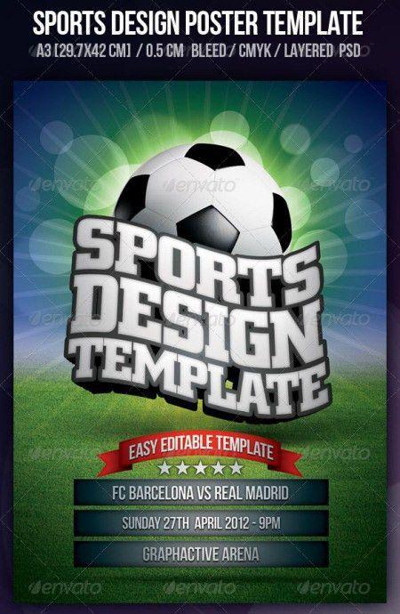 20 Electrifying Print Ready Sports Flyer Templates