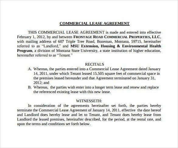 Downloadable Lease Agreement | Samples.csat.co
