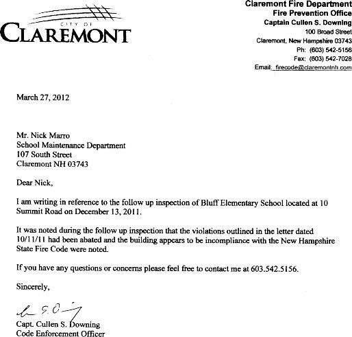 Letter Of Recommendation For Elementary School Secretary - Cover ...