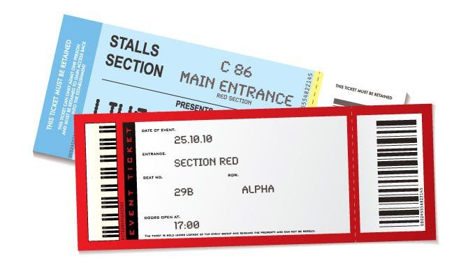 Event Ticket Printing & Raffle Ticket Printing | Same Day Order
