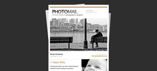 20 Professional Premium Email Newsletter Templates | Creativeoverflow