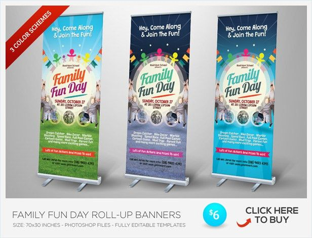 Alternative Family Fun Day Flyers by kinzishots | GraphicRiver