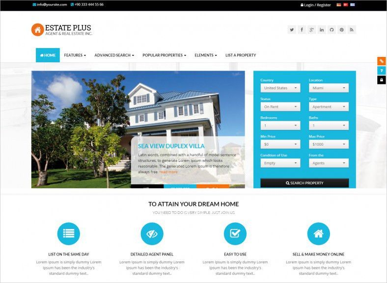 35+ HTML5 Website Themes & Templates | Free & Premium Templates