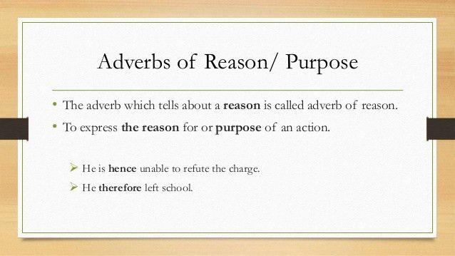 Adverb Presentation