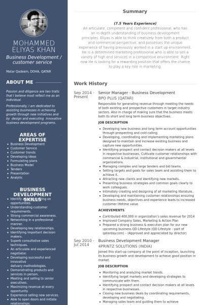 senior manager resume samples visualcv resume samples database ...