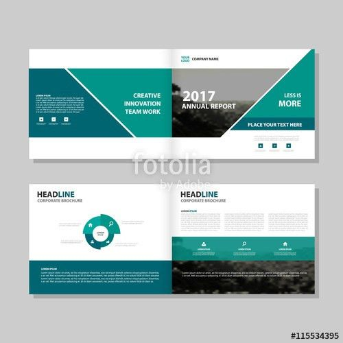 Green Vector business proposal Leaflet Brochure Flyer template ...