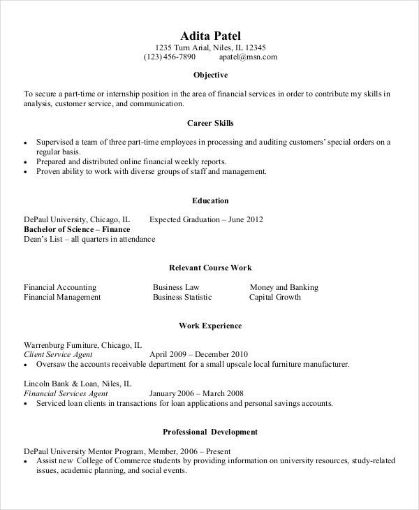 Download Entry Level Resume Examples | haadyaooverbayresort.com