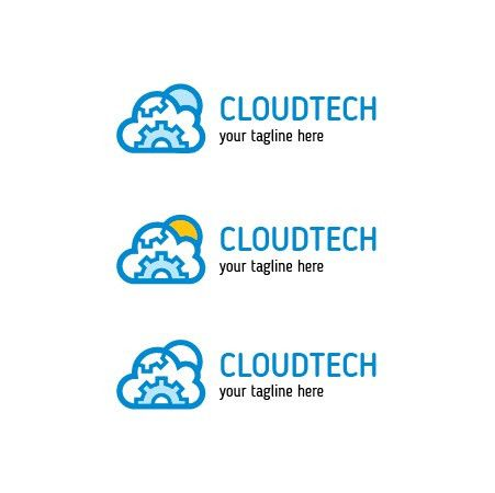 Buy Cloud Technology Logo. Buy logo template design.