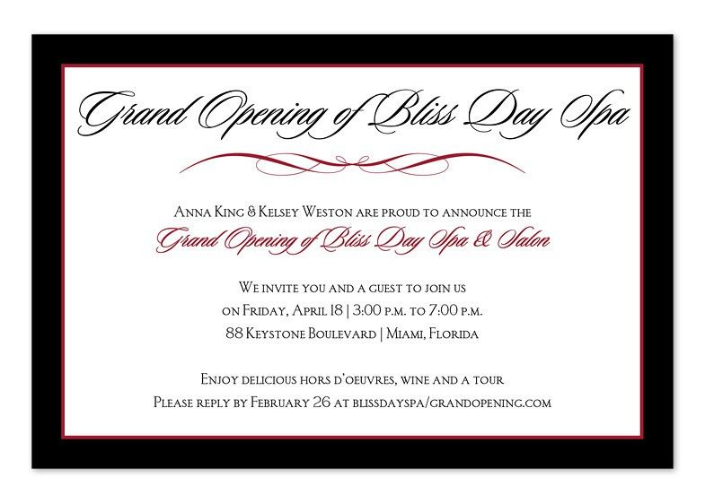 Invitation Wording Samples by Invitation Consultants