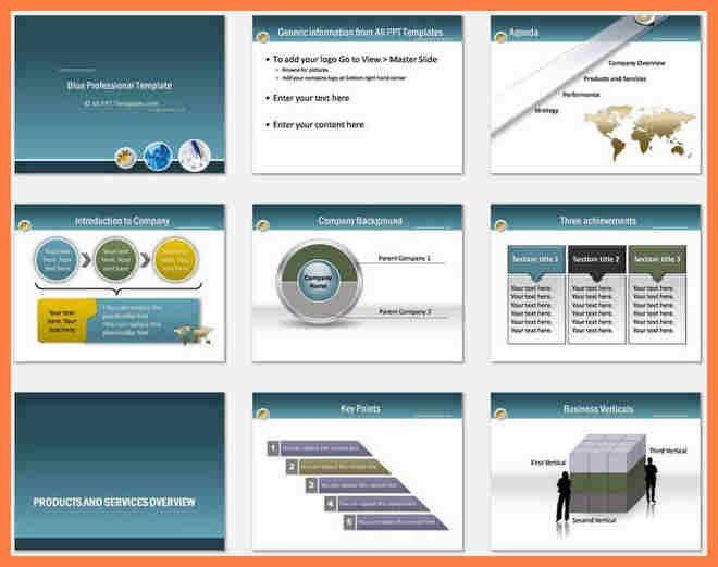 8+ professional company profile template | Company Letterhead