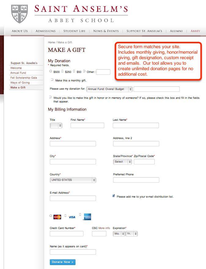 Online Donation Platform   CharityWeb