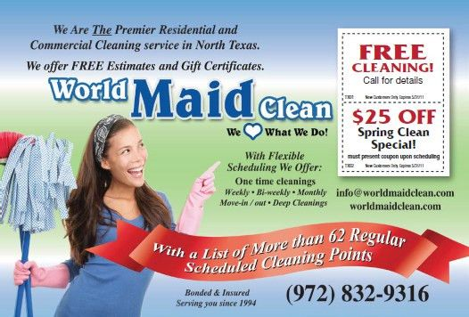 House Cleaning and Maid Services: Carrollton Maid Service ...
