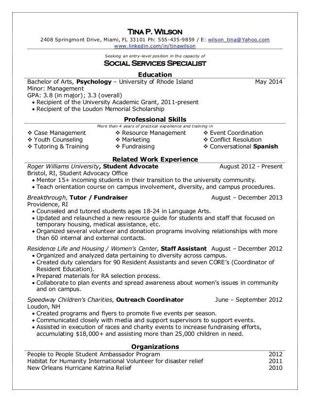 best adoptions social worker resume example livecareer adoptions ...