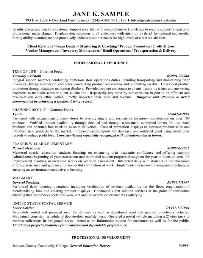 Innovational Ideas General Objectives For Resumes 14 Sample ...
