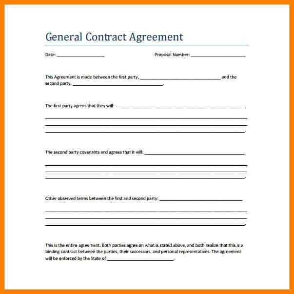 6+ sample agreement contract between two people | farmer resume