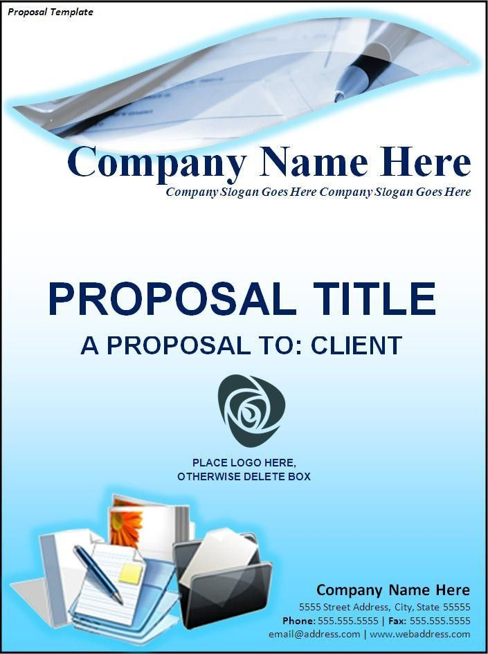 Free Proposal Template | Free Printable Word Templates,