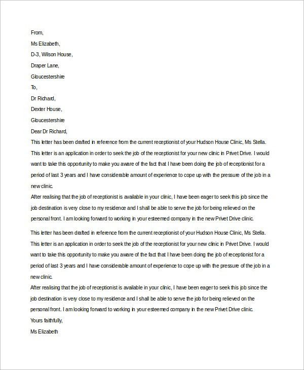 cover letter for general application cover letter guidesimple ...