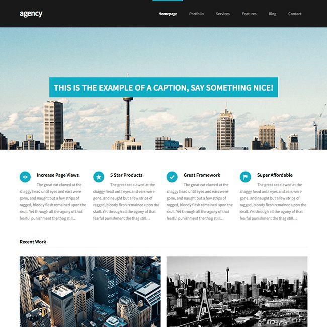 Agency Coporate Business WordPress Theme - WPExplorer