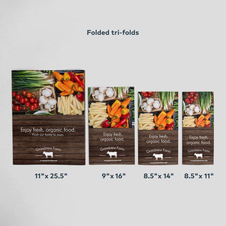 Custom Brochure Printing | Vistaprint
