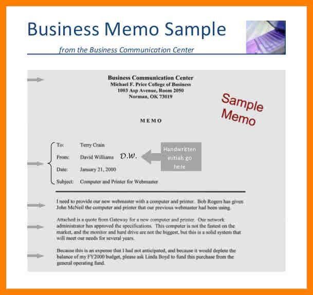 8+ business memo example | addressing letter